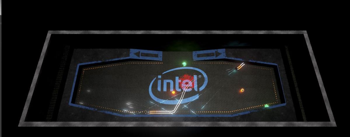 Intel Super Space Melee render
