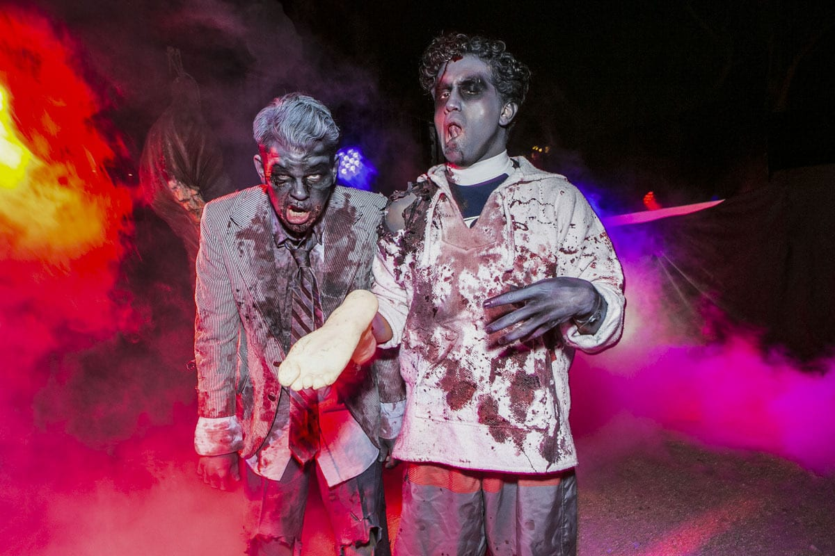 Notch's Creatures of Hellfest Party costumes