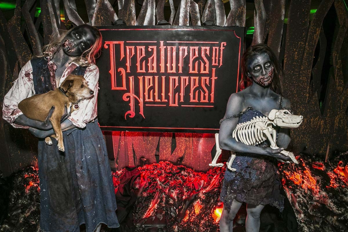 Notch's Creatures of Hellfest Party  art direction