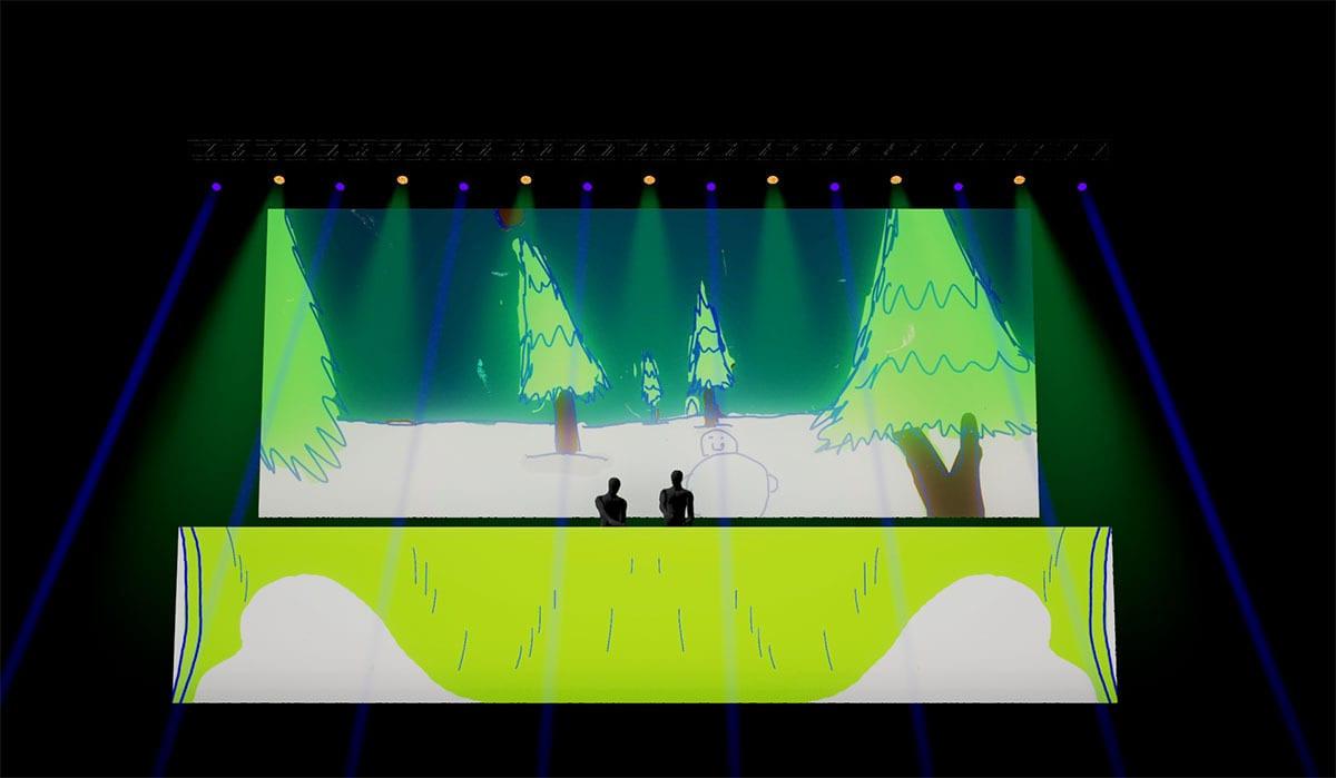 Jack Ü Fall Tour  Visuals