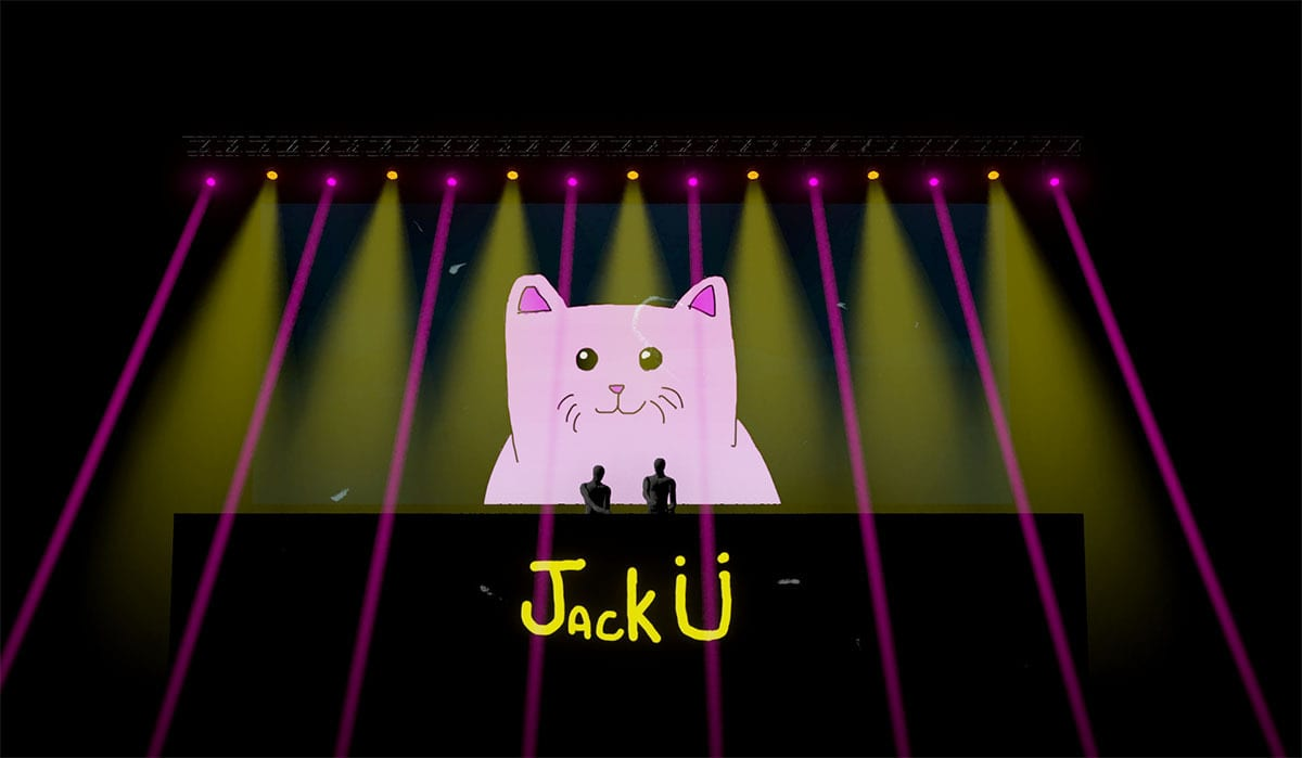 Jack Ü Fall Tour  graphics