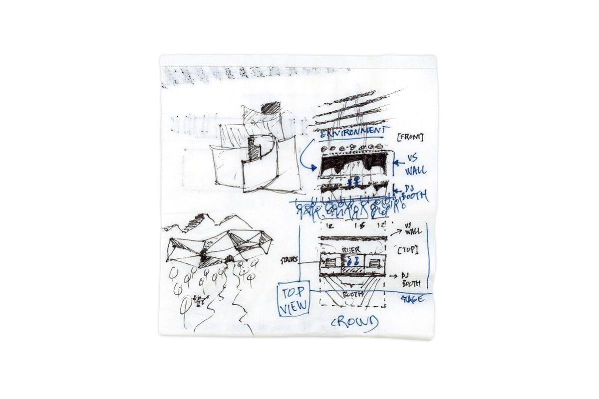 Jack Ü Fall Tour concept sketch