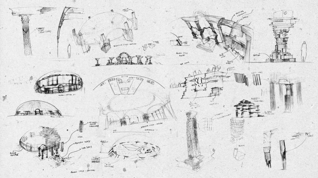 .party() los angeles concept sketch