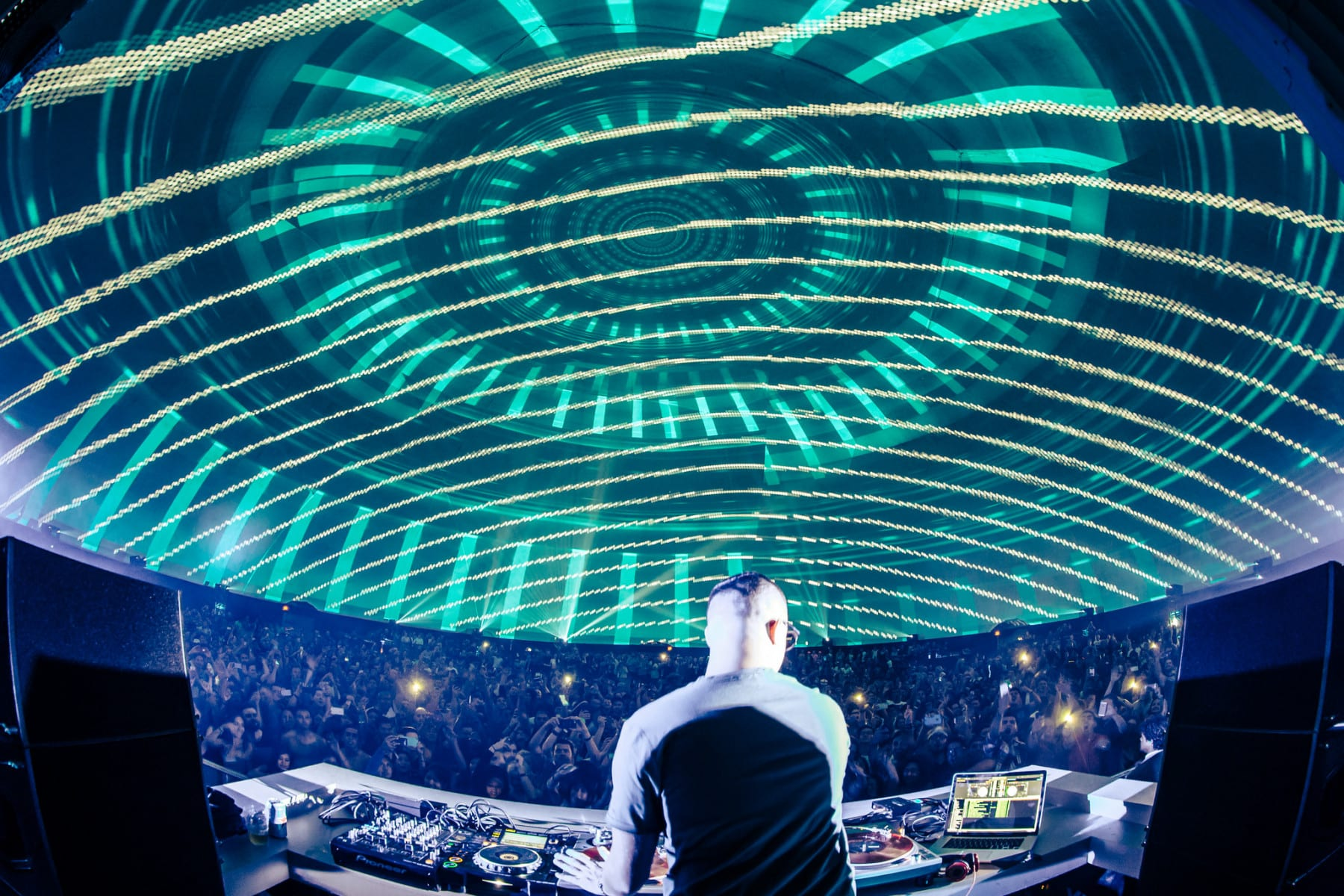 .party() LA dome lights