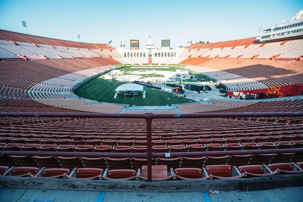 .party() LA stadium