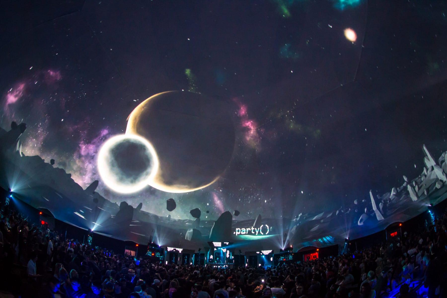 .party() LA 3D graphics