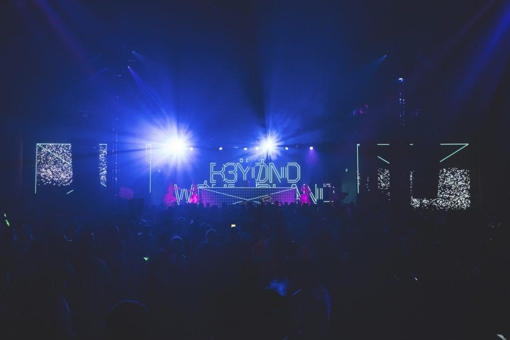 Insomniac Beyond Wonderland stage