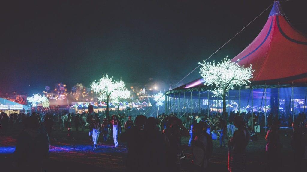 Insomniac Beyond Wonderland tent