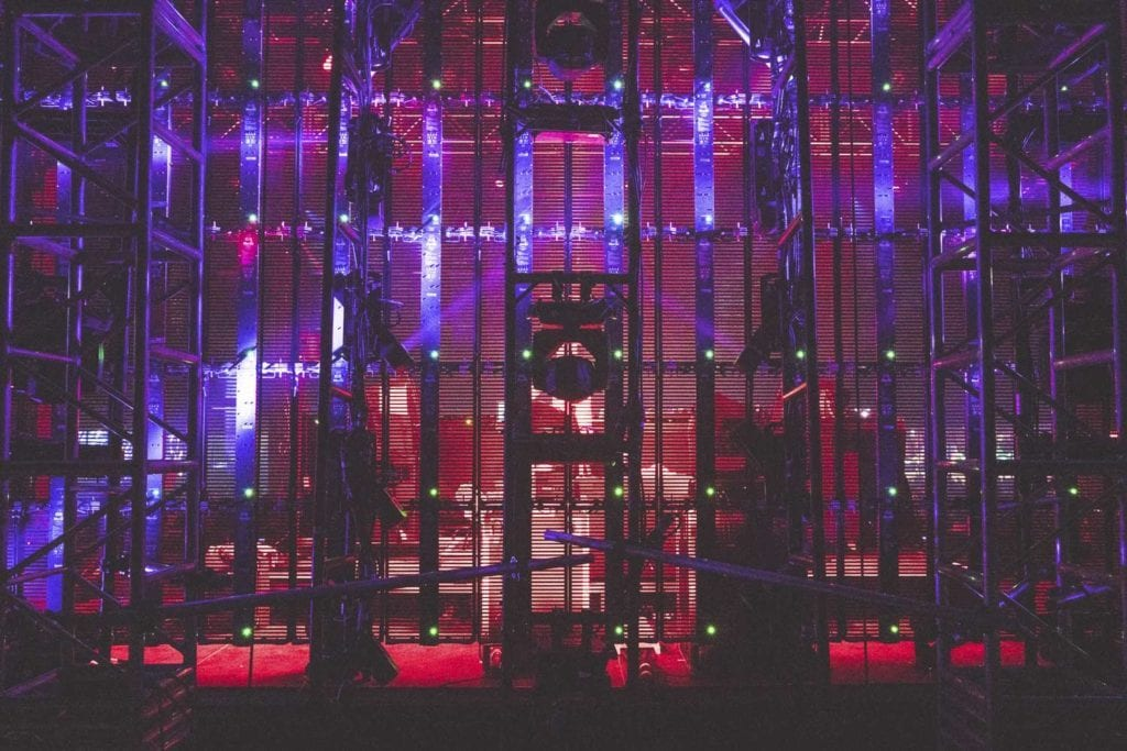 Insomniac Beyond Wonderland lights