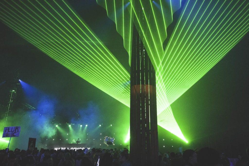 Insomniac 'Beyond Wonderland' Stage Design light show