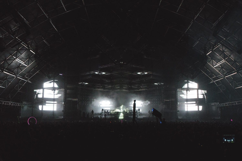 ZHU Neon City Tour Coachella  2016 stage