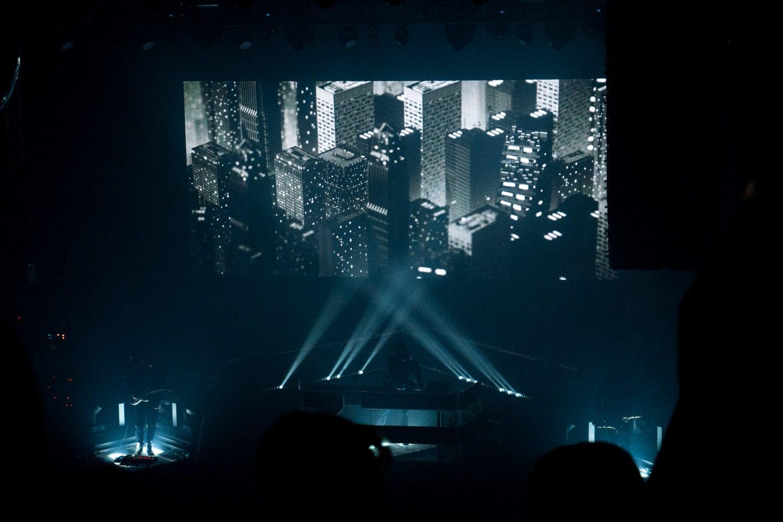 ZHU Neon City Tour visuals