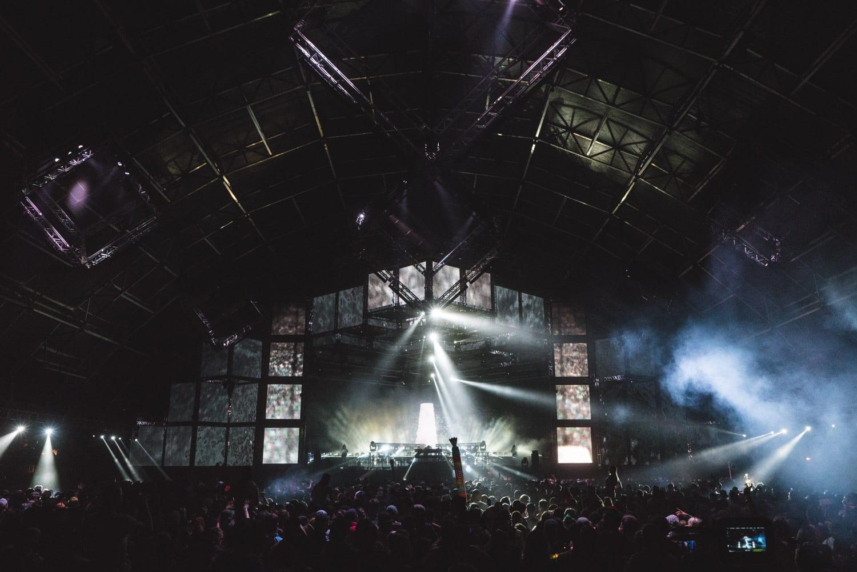 ZHU Neon City Tour Coachella  stage lights