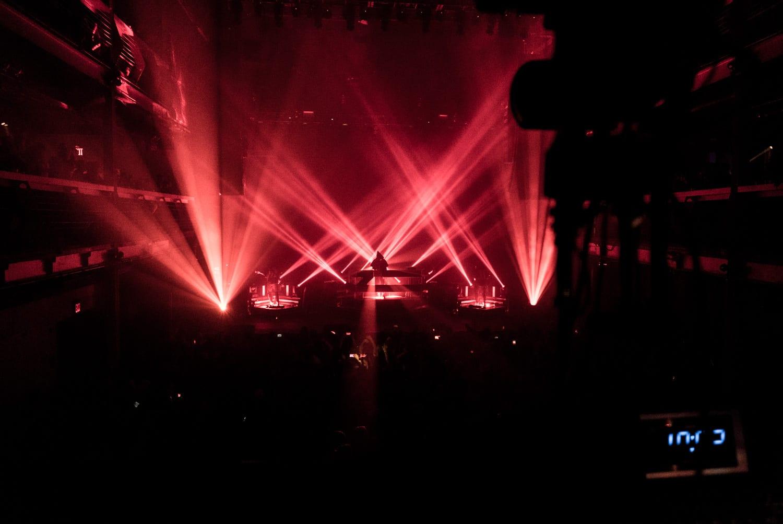 ZHU Neon City Tour stage lights