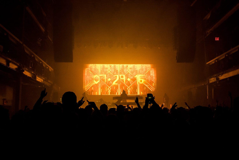 ZHU Neon City Tour 2016 stage