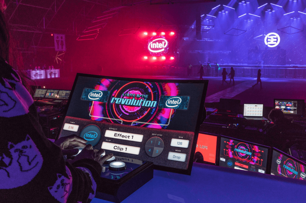 Intel 'Stage Control' Interactive Activation