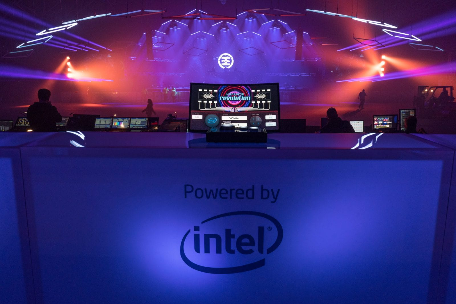 Intel Stage Control Desk