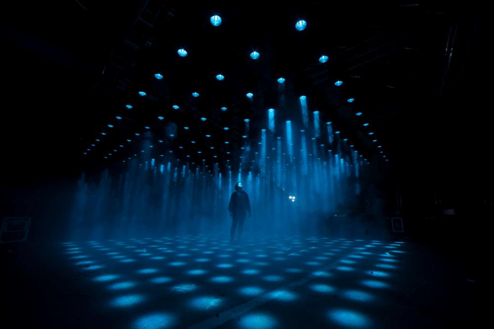 Intel 'Interactive Light' Art Installation