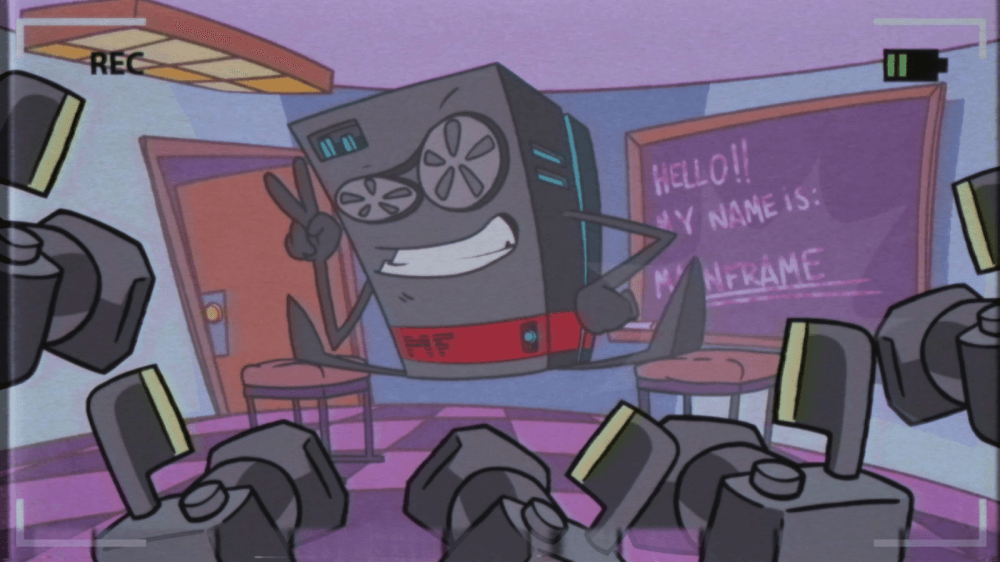 'The Rise and the Fall of the Mainframe' animated short