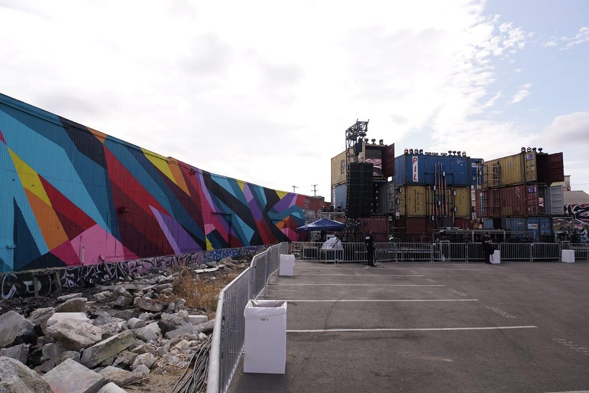 Factory 93 Secret Project Festival art direction