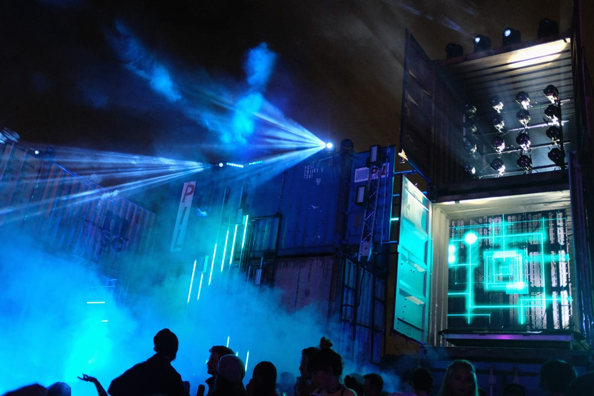 Factory 93 Secret Project Festival lights