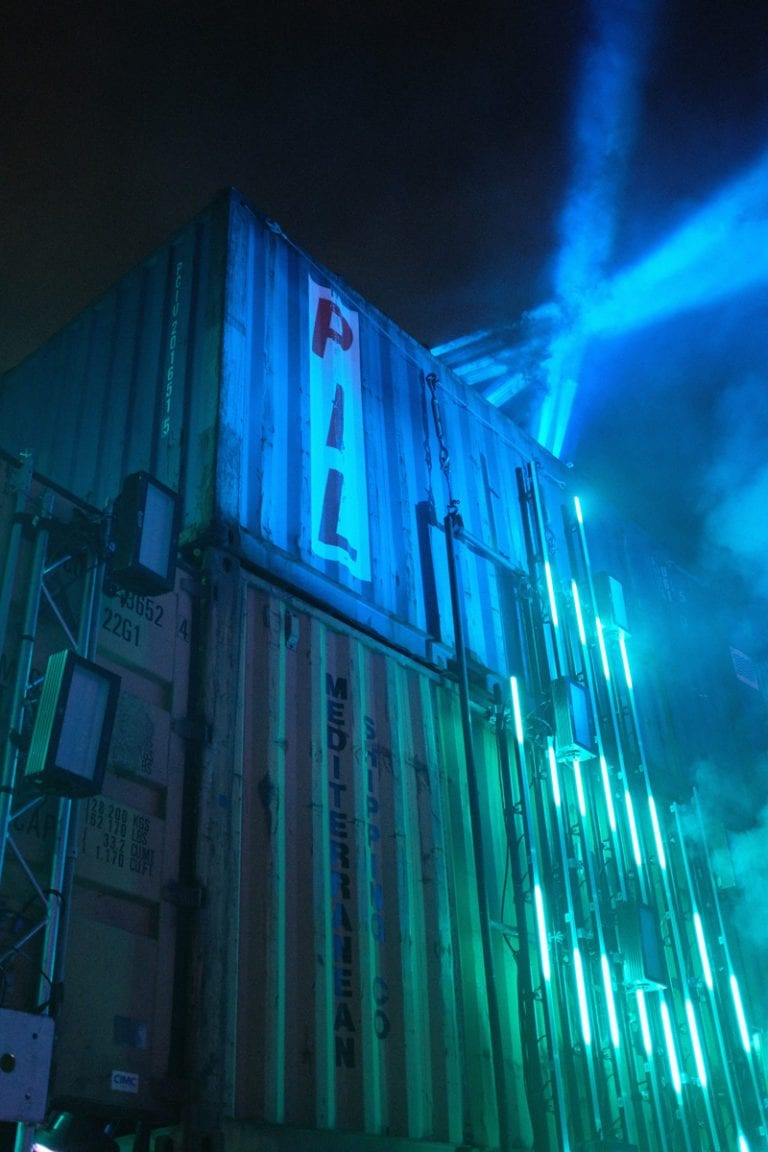 Factory 93 Secret Project Festival shipping container