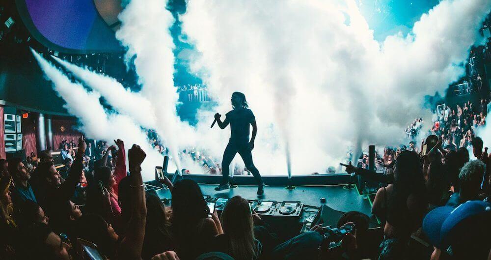 Skrillex @ KAOS Opening Night Show + Visuals