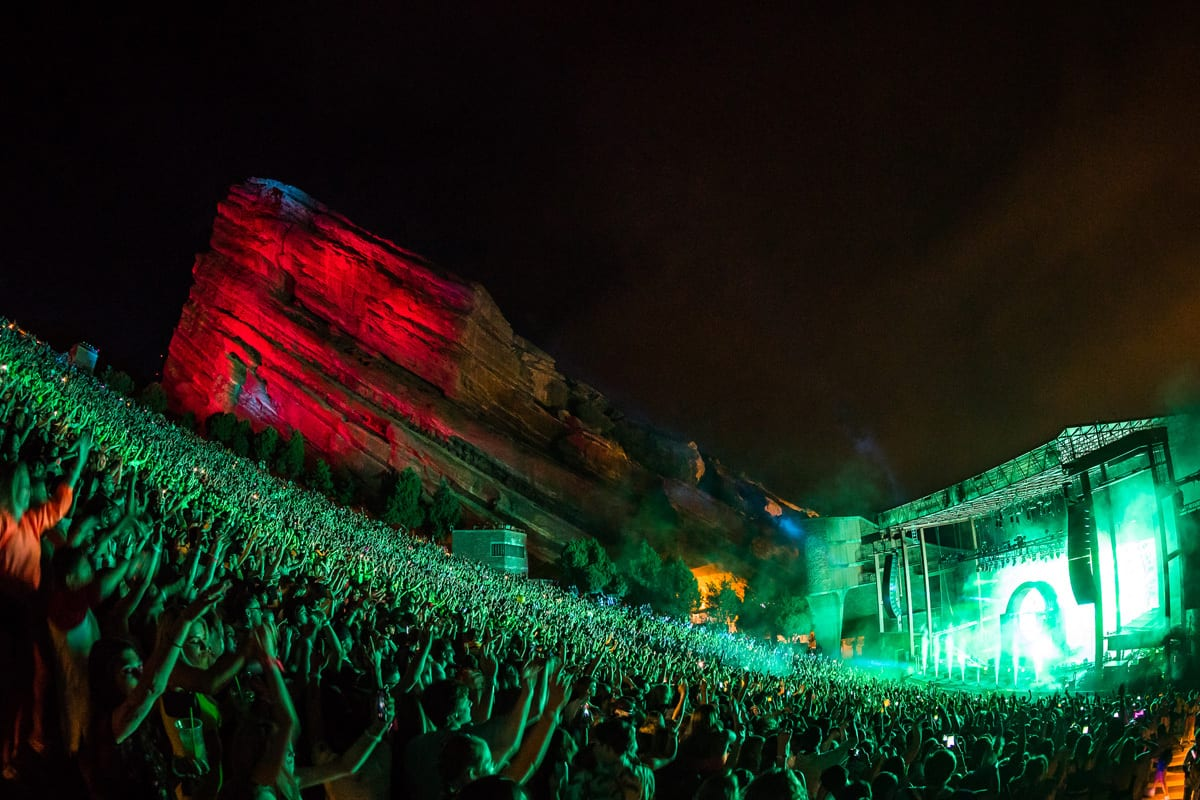 Zedd Red Rocks