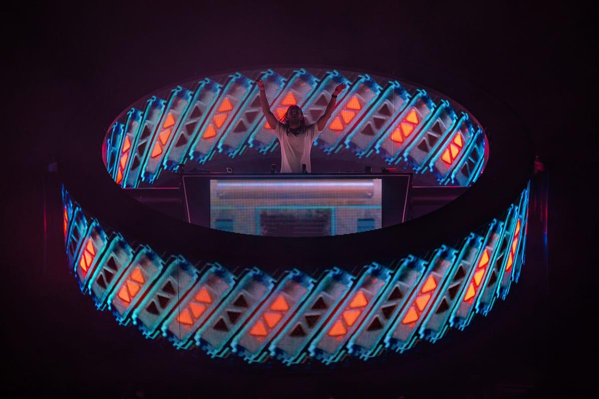 Zedd Orbit Tour ring
