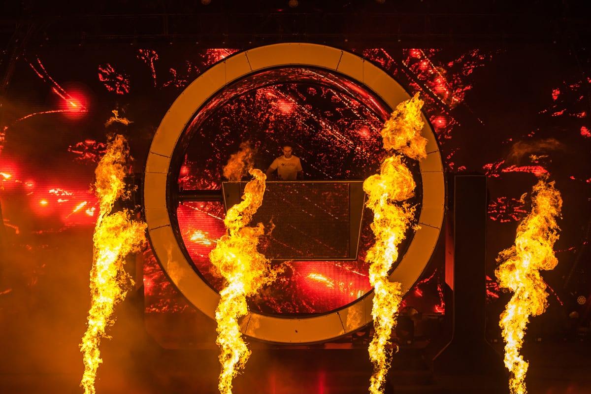 Zedd Orbit Tour stage