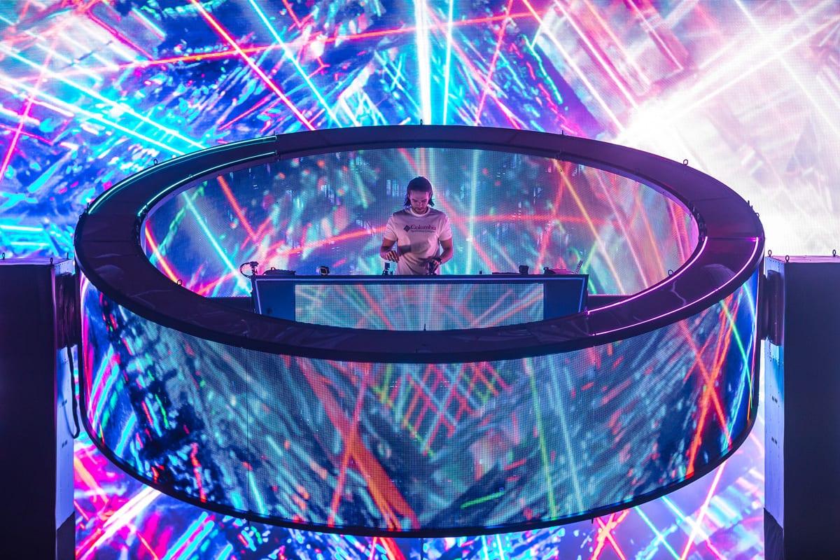 Zedd Orbit Tour rotating ring