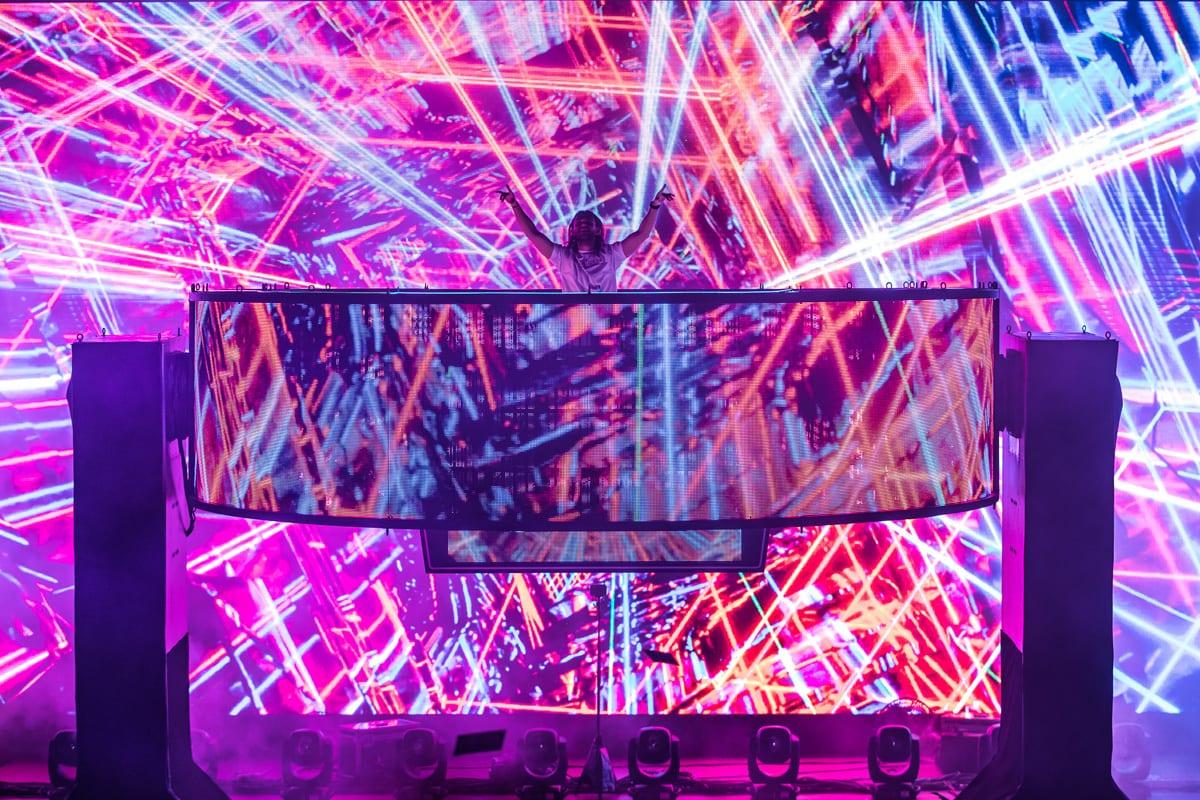 Zedd Orbit Tour graphics