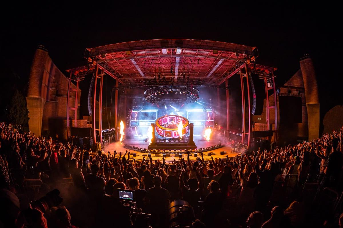 Zedd Orbit Tour Red Rocks