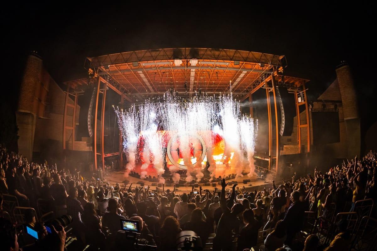 Zedd tour Red Rocks