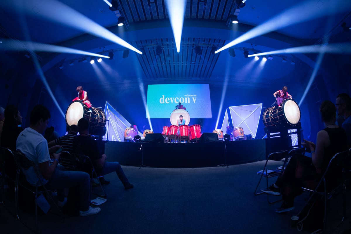 Devcon V stage