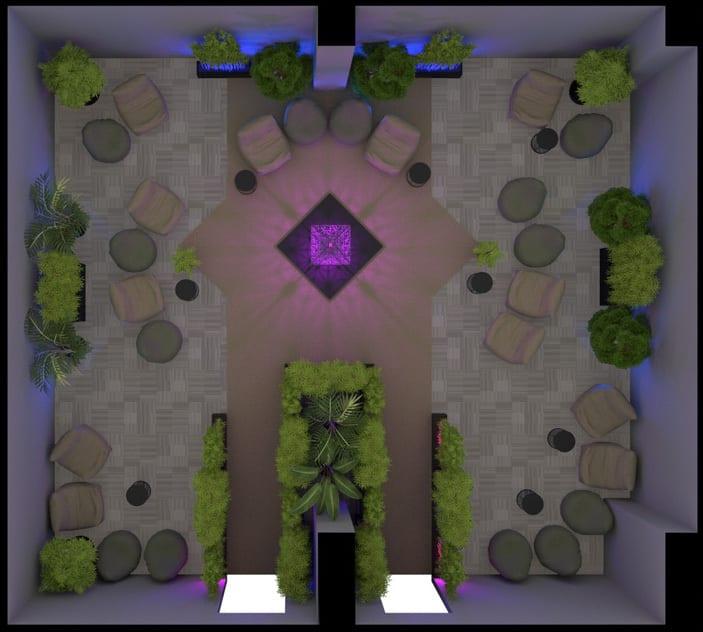 Devcon V room layout