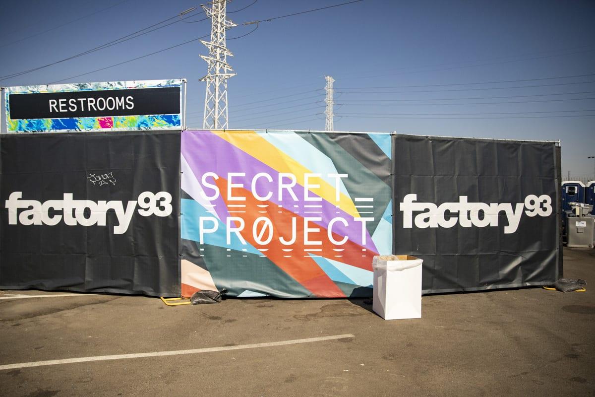 Factory 93 Secret Project