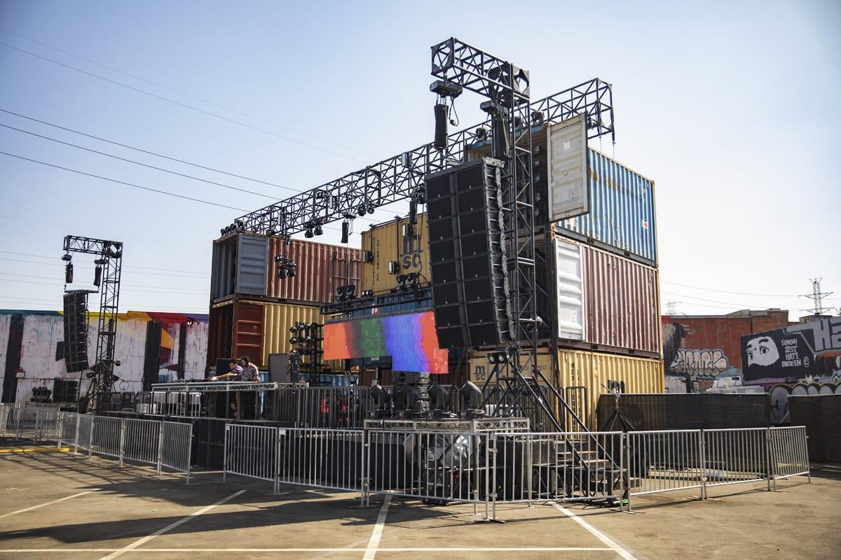 Secret Project 2019 stage