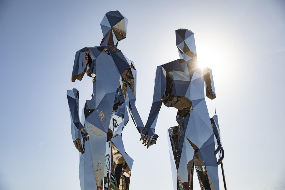 Secret Project Festival sculpture