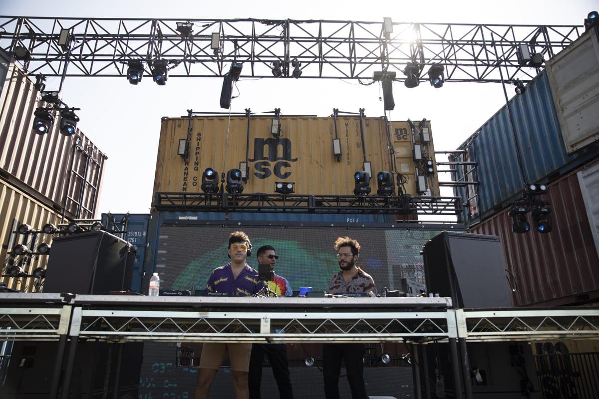 Factory Project Secret Project Festival stage