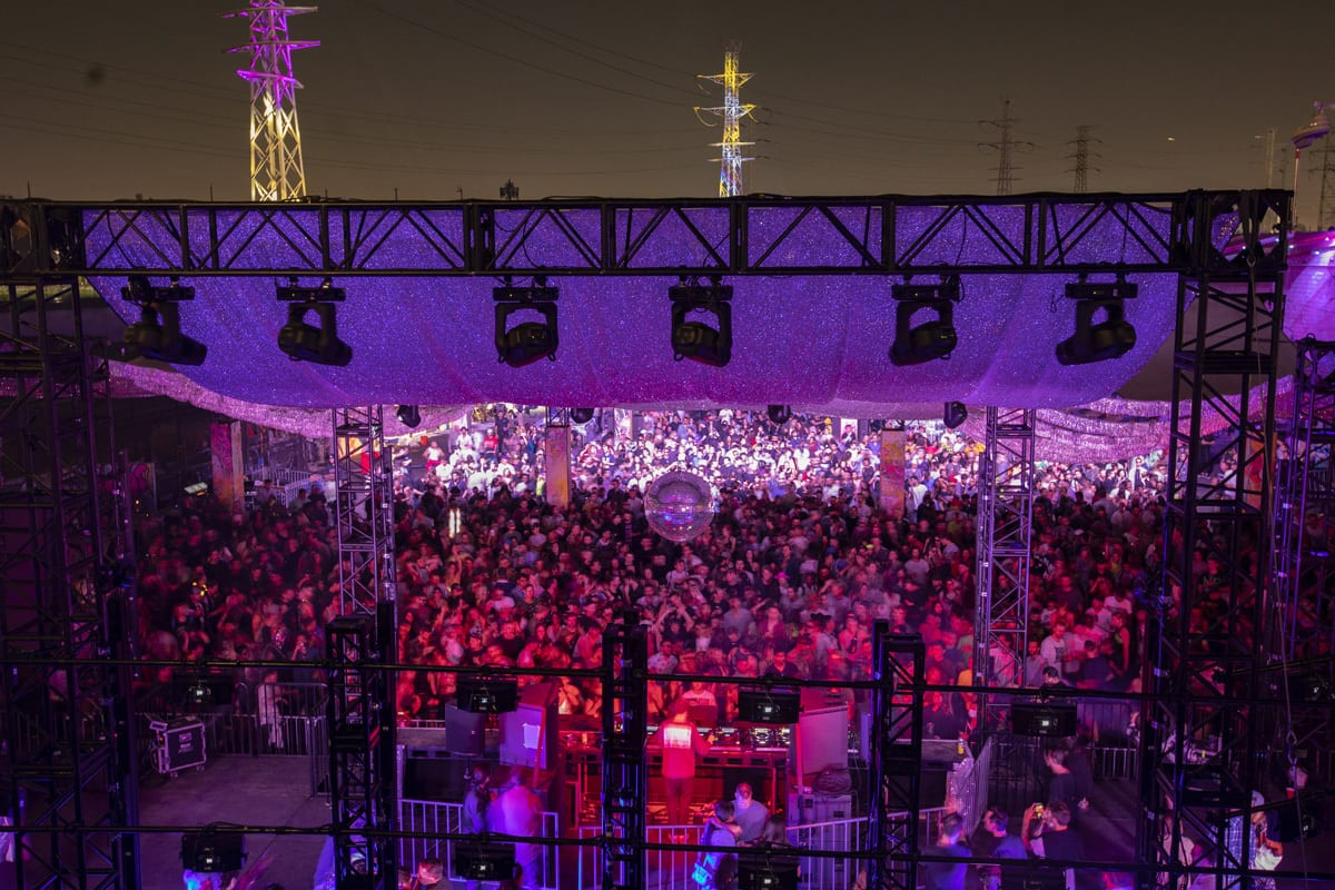Factory 93 Secret Project Festival stage