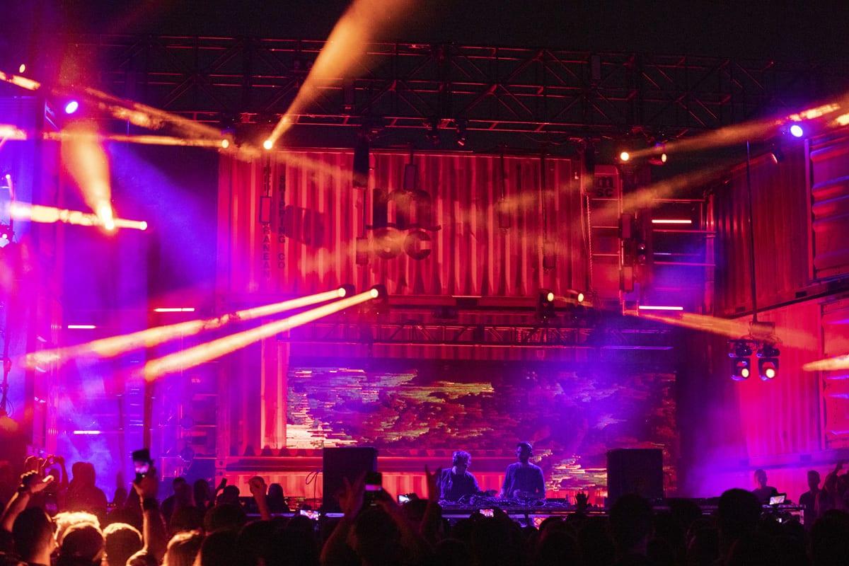 Secret Project Festival 2019 lights