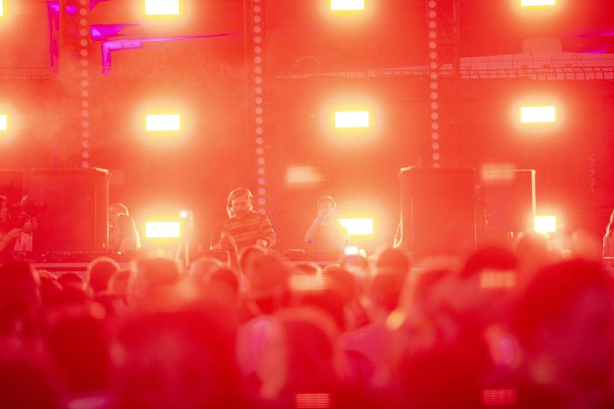 Factory 93 Secret Project Festival 2019 lights