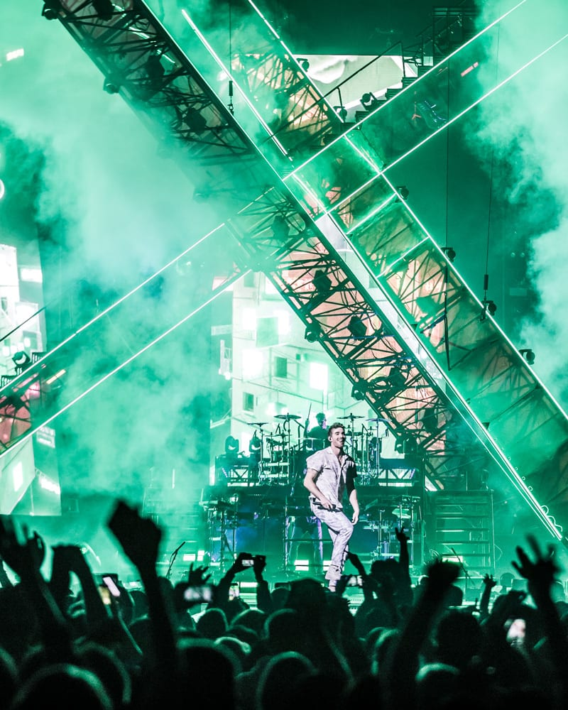 The Chainsmokers Tour 2019 Stage