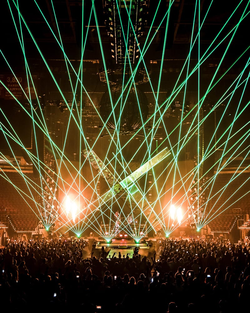 The Chainsmokers World War Joy Tour stage