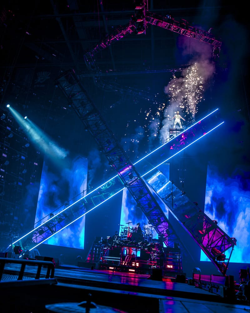 The Chainsmokers Tour stage