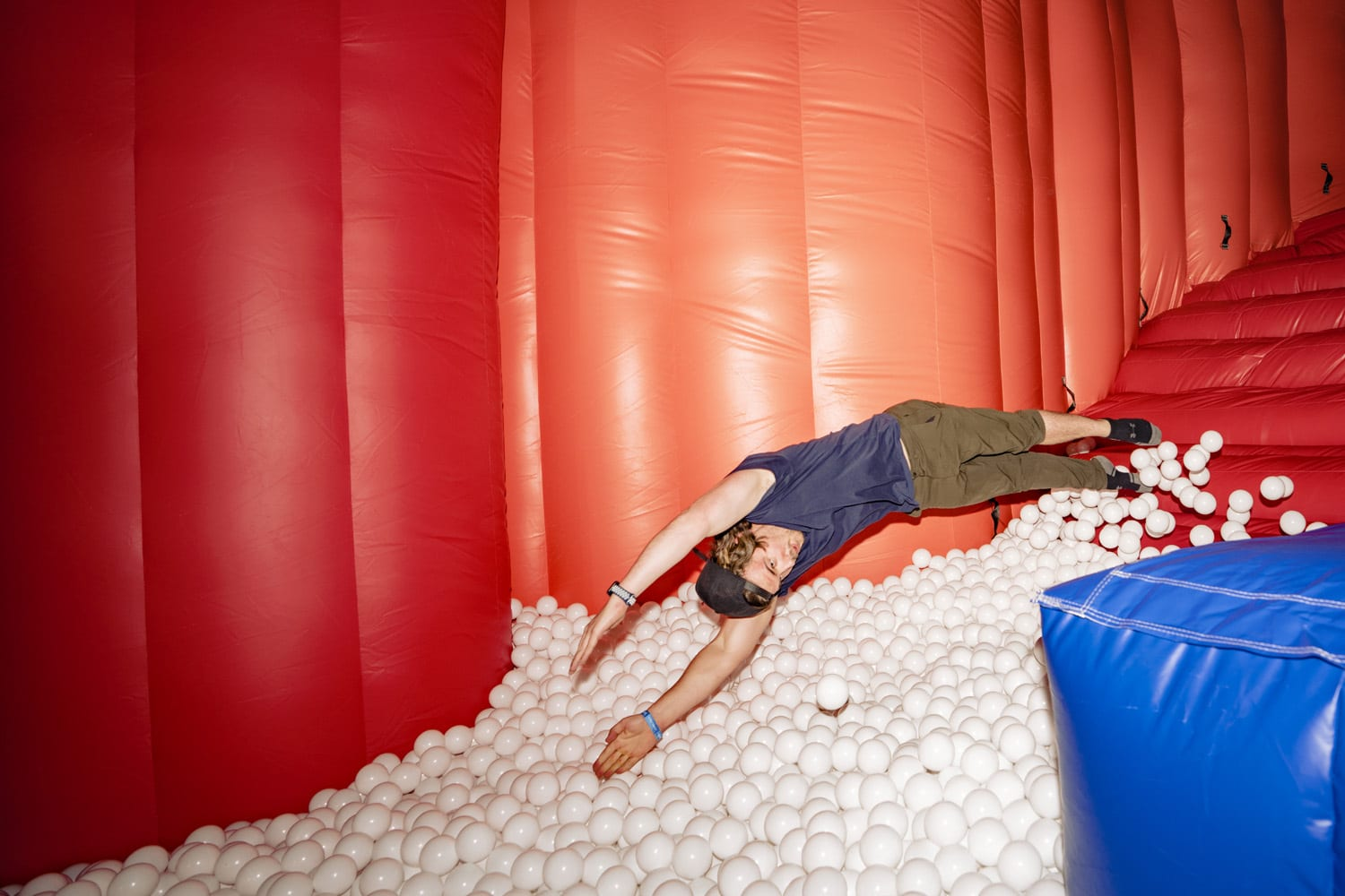 Intersect Festival ball pit
