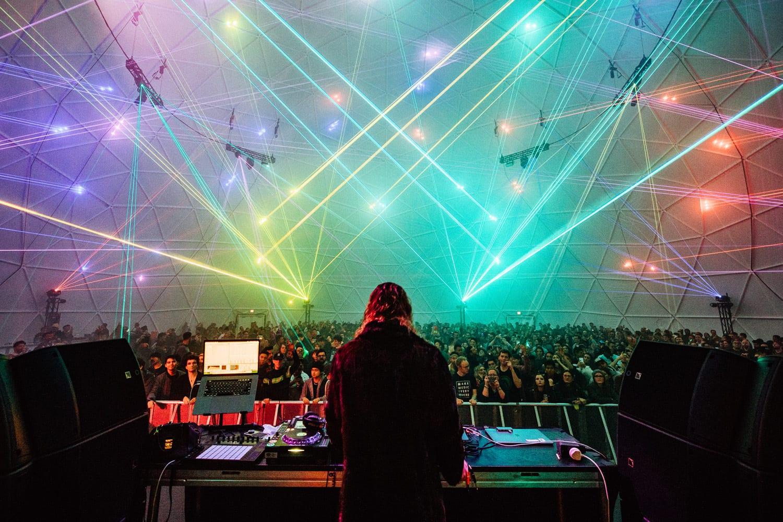 Intersect Festival Laser Dome