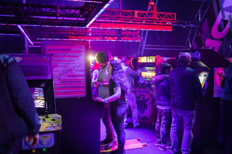 Intersect Festival Arcade