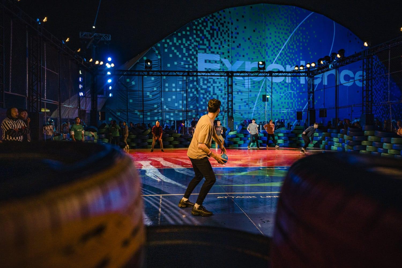 AWS Intersect Festival Dodgeball